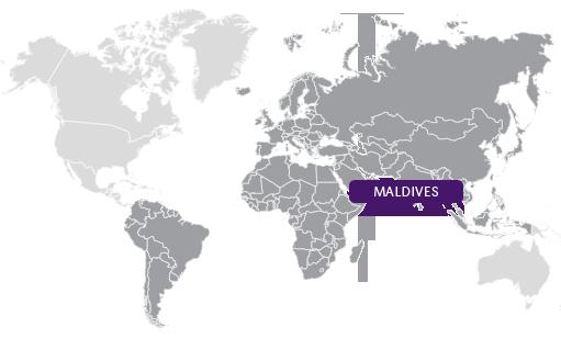maldives - Arrow