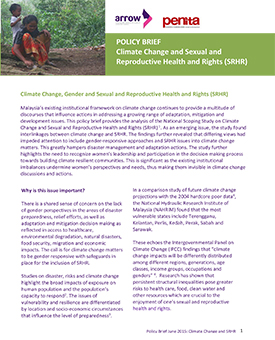 Malaysia Advocacy Brief On Climate Change And Srhr Arrow