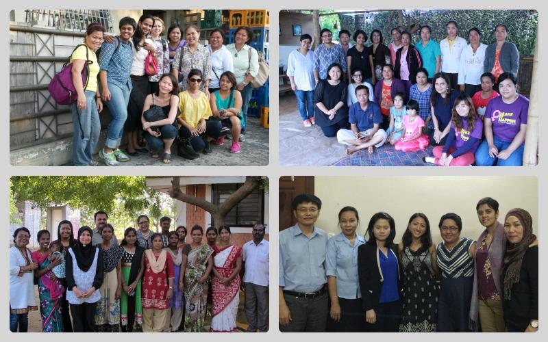 Partner Visit Collage