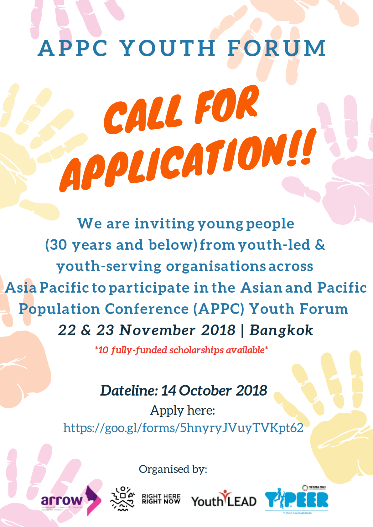 APPC Youth Forum – Call for Application_001