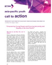 APFSDYouth2019 Call to Action