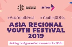 Asia Regional Youth Festival 2019 poster